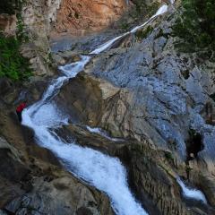 Cascada en la Sierra Escambray